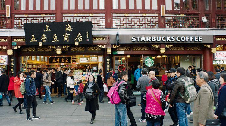 Starbucks en Chine