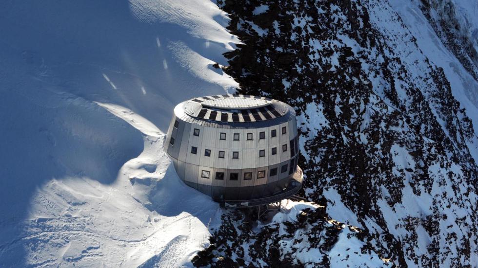 Mont Blanc - refuge du goûter