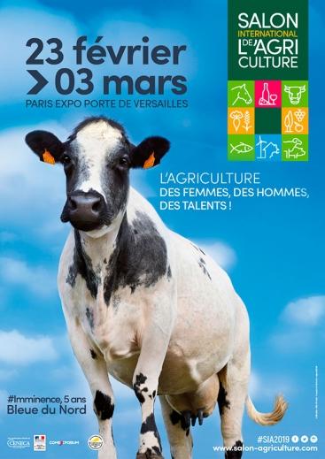 Affiche Salon Agriculture 2019