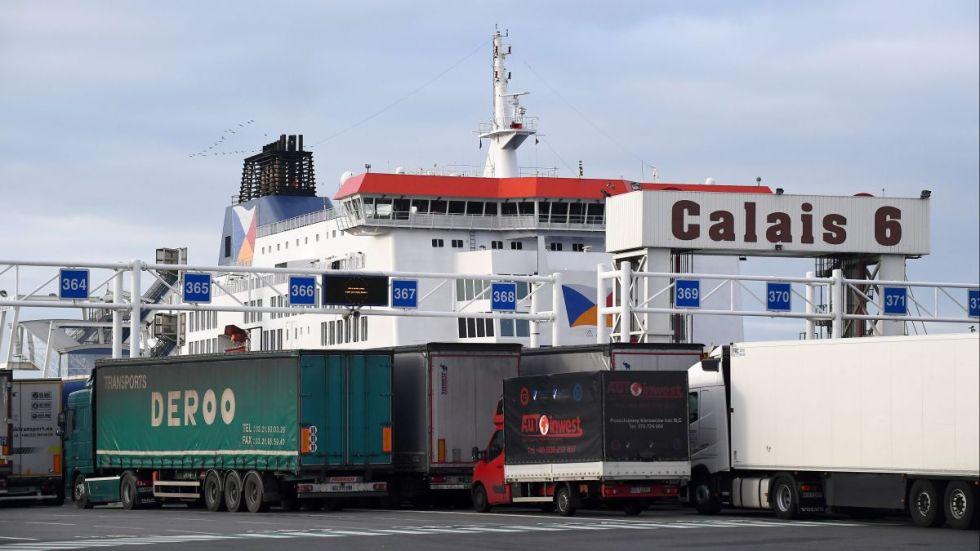 Port de Calais illu @Marc Demeure: MAXPPP