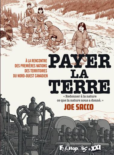 Joe Sacco Payer la terre couv