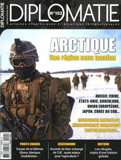 Une Diplomatie janvier-février n°102 Arctique une région sous tension