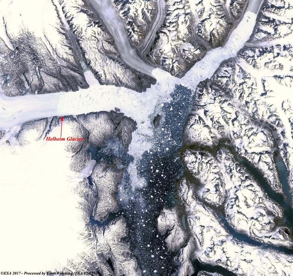 Landsat-5-Helheim-Glacier-06071985